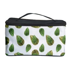 Leaves Motif Nature Pattern Cosmetic Storage Case