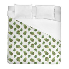 Leaves Motif Nature Pattern Duvet Cover (Full/ Double Size)