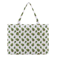 Leaves Motif Nature Pattern Medium Tote Bag