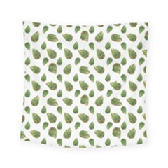 Leaves Motif Nature Pattern Square Tapestry (Small)