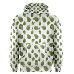 Leaves Motif Nature Pattern Men s Pullover Hoodie