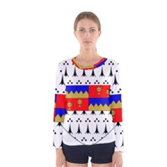 County Tipperary Coat of Arms  Women s Long Sleeve Tee