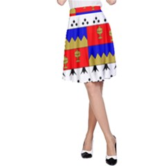 County Tipperary Coat of Arms  A-Line Skirt