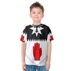 County Tyrone Coat of Arms  Kids  Cotton Tee