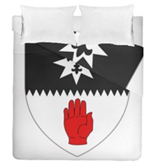 County Tyrone Coat of Arms  Duvet Cover Double Side (Queen Size)