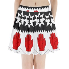 County Tyrone Coat of Arms  Pleated Mini Skirt