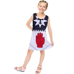 County Tyrone Coat of Arms  Kids  Tunic Dress