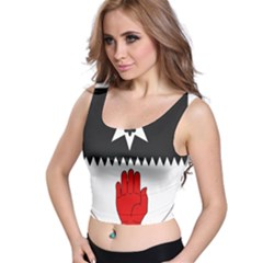 County Tyrone Coat of Arms  Crop Top