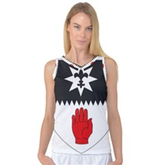 County Tyrone Coat of Arms  Women s Basketball Tank Top