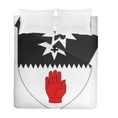 County Tyrone Coat of Arms  Duvet Cover Double Side (Full/ Double Size)