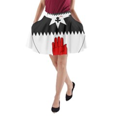 County Tyrone Coat of Arms  A-Line Pocket Skirt