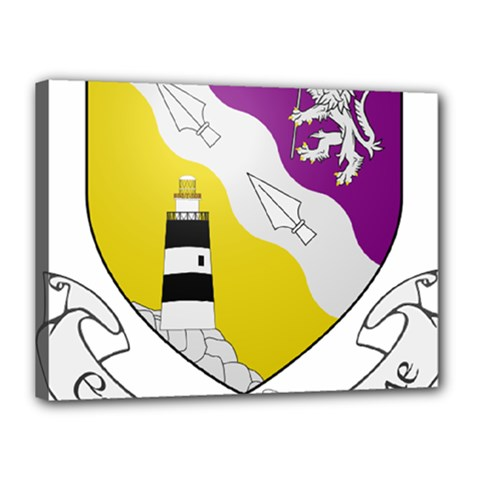 County Wexford Coat of Arms  Canvas 16  x 12