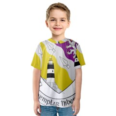 County Wexford Coat of Arms  Kids  Sport Mesh Tee