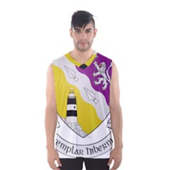 County Wexford Coat of Arms  Men s Basketball Tank Top