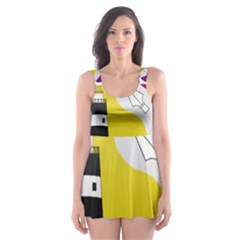 County Wexford Coat of Arms  Skater Dress Swimsuit
