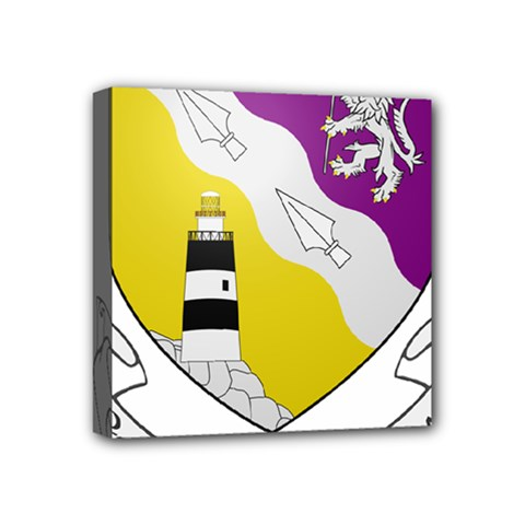 County Wexford Coat of Arms  Mini Canvas 4  x 4