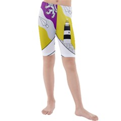 County Wexford Coat of Arms  Kids  Mid Length Swim Shorts
