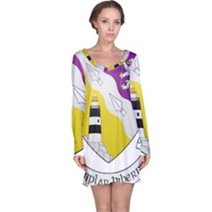 County Wexford Coat of Arms  Long Sleeve Nightdress