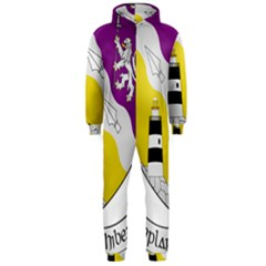 County Wexford Coat of Arms  Hooded Jumpsuit (Men)