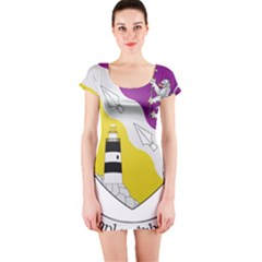 County Wexford Coat of Arms  Short Sleeve Bodycon Dress