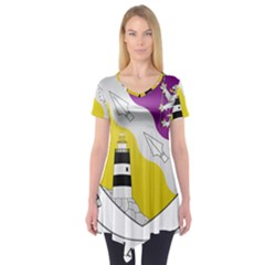 County Wexford Coat of Arms  Short Sleeve Tunic