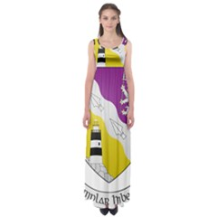 County Wexford Coat of Arms  Empire Waist Maxi Dress