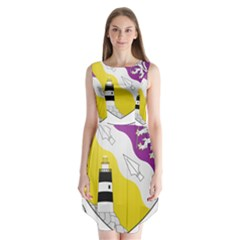 County Wexford Coat of Arms  Sleeveless Chiffon Dress