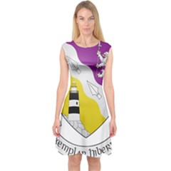 County Wexford Coat of Arms  Capsleeve Midi Dress