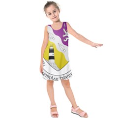 County Wexford Coat of Arms  Kids  Sleeveless Dress