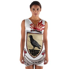 County Dublin Coat of Arms  Wrap Front Bodycon Dress
