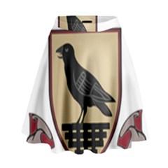 County Dublin Coat of Arms  High Waist Skirt