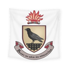 County Dublin Coat of Arms  Square Tapestry (Small)
