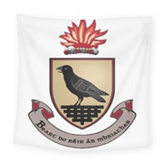 County Dublin Coat of Arms  Square Tapestry (Large)