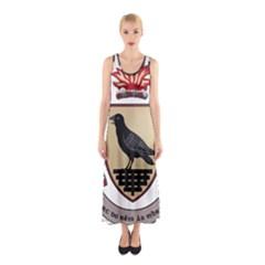 County Dublin Coat of Arms  Sleeveless Maxi Dress