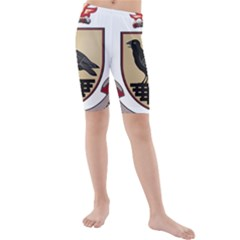 County Dublin Coat of Arms  Kids  Mid Length Swim Shorts