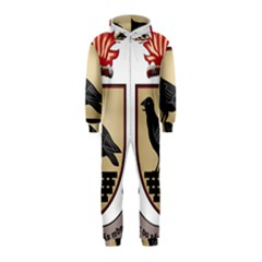 County Dublin Coat of Arms  Hooded Jumpsuit (Kids)
