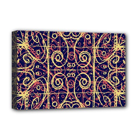 Tribal Ornate Pattern Deluxe Canvas 18  x 12
