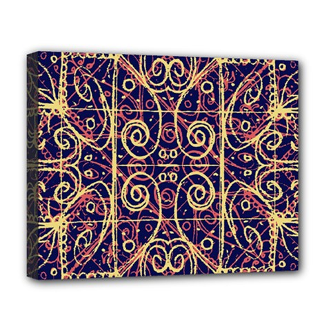 Tribal Ornate Pattern Deluxe Canvas 20  x 16