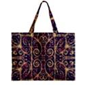 Tribal Ornate Pattern Zipper Mini Tote Bag View1