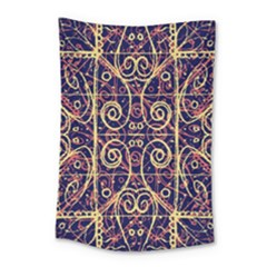 Tribal Ornate Pattern Small Tapestry