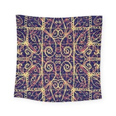 Tribal Ornate Pattern Square Tapestry (small)