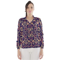 Tribal Ornate Pattern Wind Breaker (Women)