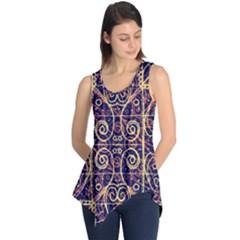 Tribal Ornate Pattern Sleeveless Tunic