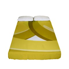 Banana Fitted Sheet (Full/ Double Size)