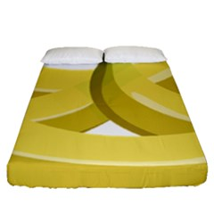 Banana Fitted Sheet (Queen Size)
