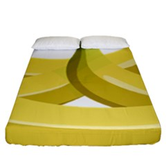 Banana Fitted Sheet (King Size)