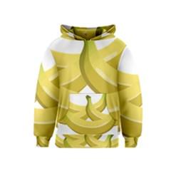 Banana Kids  Pullover Hoodie