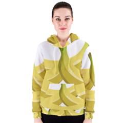 Banana Women s Zipper Hoodie