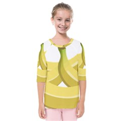 Banana Kids  Quarter Sleeve Raglan Tee