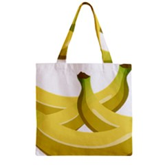 Banana Zipper Grocery Tote Bag